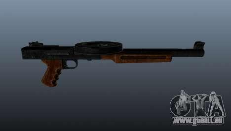 Le pistolet mitrailleur SMG réduit au silence pour GTA 4 troisième écran