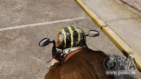 Eine Sammlung von Helme Arai v2 für GTA 4 Sekunden Bildschirm