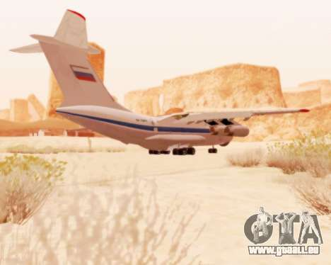 Il-76td v2.0 pour GTA San Andreas vue arrière