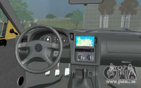Opel Astra F GSI BBS Style pour GTA San Andreas vue de droite
