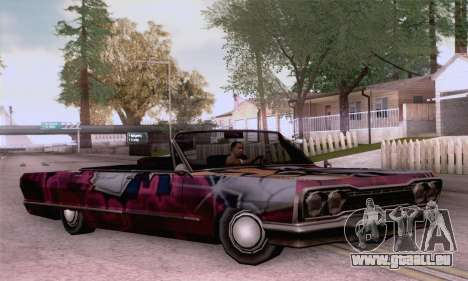 Les travaux de peinture pour la savane pour GTA San Andreas