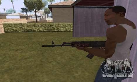 AK-12 pour GTA San Andreas quatrième écran