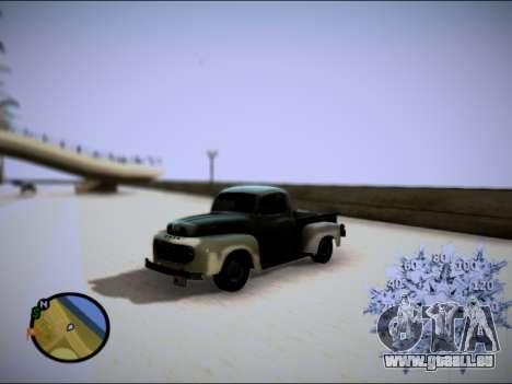 Ford Frieghter 1949 für GTA San Andreas Rückansicht