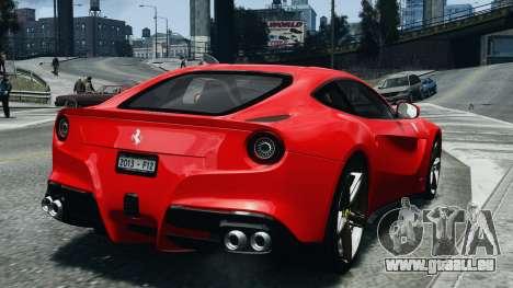 Ferrari F12 Berlinetta 2013 Modified Edition EPM pour GTA 4 Vue arrière de la gauche