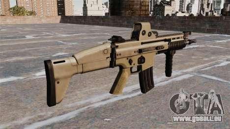 Fusils d'assaut FN SCAR-L pour GTA 4 secondes d'écran
