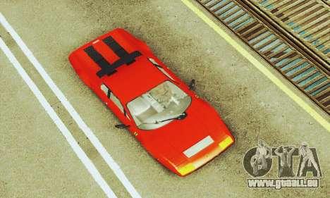 Ferrari 512 BB für GTA San Andreas Seitenansicht