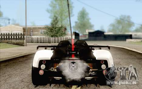 Pagani Zonda Cinque für GTA San Andreas linke Ansicht