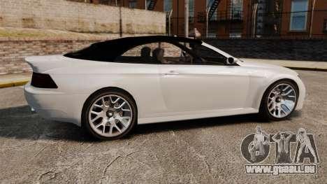 GTA V Zion XS Cabrio [Update] pour GTA 4 est une gauche