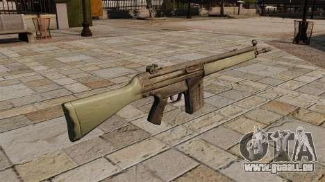 HK G3 Automatisches Gewehr für GTA 4 Sekunden Bildschirm