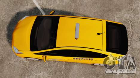 Toyota Prius 2011 Adelaide Independant Taxi pour GTA 4 est un droit