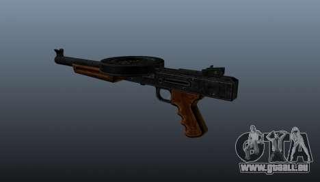 Le pistolet mitrailleur SMG réduit au silence pour GTA 4 secondes d'écran