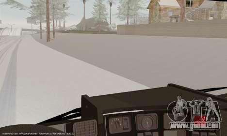 Scania P420 pour GTA San Andreas salon