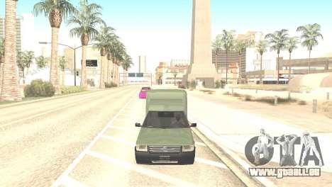 Fiat Fiorino Fire 07 pour GTA San Andreas vue de droite