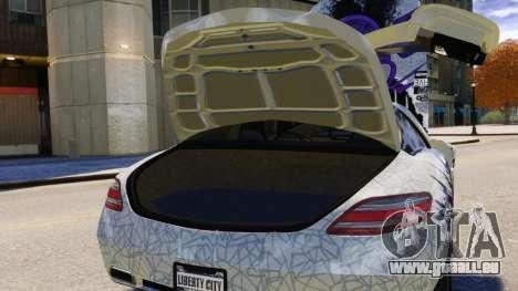 Mercedes Benz SLS AMG 2011 v3.0 [EPM] für GTA 4 Innen