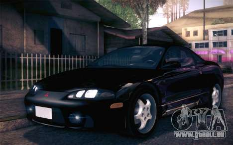 Mitsubishi Eclipse Fast and Furious für GTA San Andreas linke Ansicht