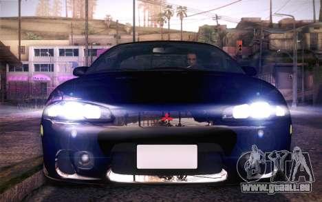 Mitsubishi Eclipse Fast and Furious für GTA San Andreas rechten Ansicht