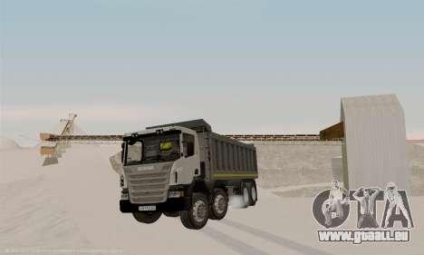 Scania P420 für GTA San Andreas zurück linke Ansicht