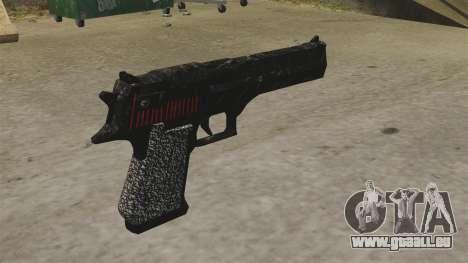 Desert Eagle pistolet Propa Gangsta pour GTA 4 secondes d'écran