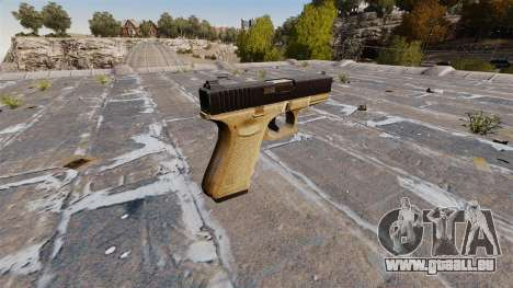 Pistolet semi-automatique Glock 19 pour GTA 4 secondes d'écran
