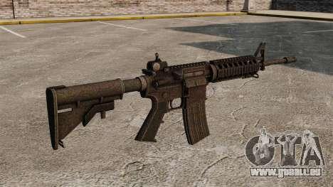 Halbautomatisches Gewehr des AR-15 für GTA 4 Sekunden Bildschirm