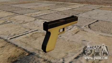 Zweifarbige Glock für GTA 4 Sekunden Bildschirm