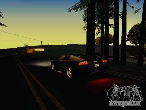 SA_RaptorX v1. 0 für schwache PC für GTA San Andreas achten Screenshot