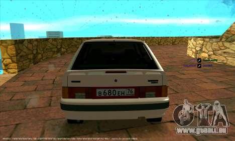 ВАЗ 2114 für GTA San Andreas Rückansicht