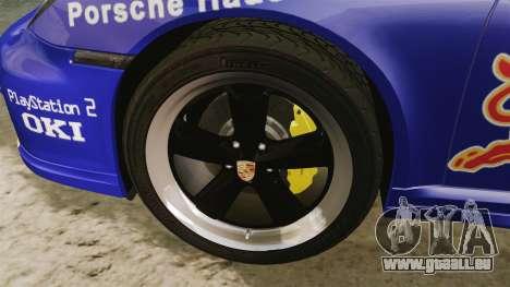 Porsche 911 Sport Classic 2010 Red Bull pour GTA 4 Vue arrière