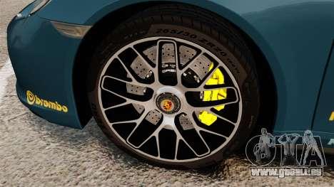 Porsche 911 Turbo 2014 [EPM] Alpinestars pour GTA 4 Vue arrière