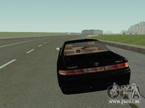 Toyota Mark II für GTA San Andreas linke Ansicht