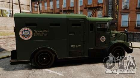 Military Enforcer für GTA 4 linke Ansicht