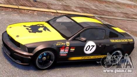 Shelby Terlingua Mustang für GTA 4 linke Ansicht