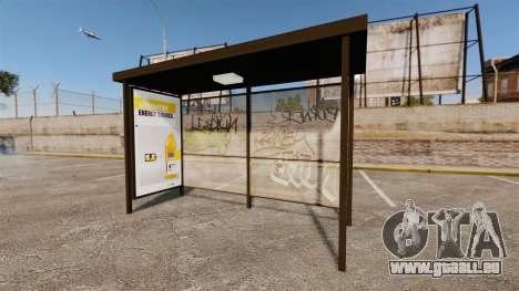 Neue Werbeplakate an den Bushaltestellen für GTA 4 dritte Screenshot