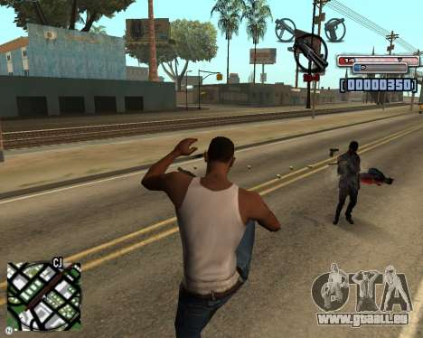 C-HUD by olimpiad pour GTA San Andreas