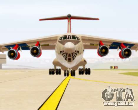 Il-76td Samara pour GTA San Andreas laissé vue