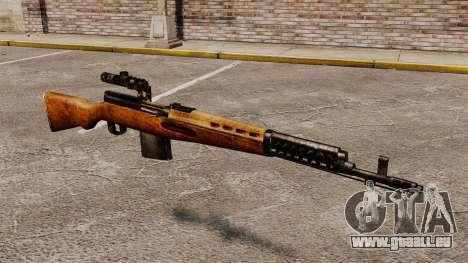 Ladewagen Gewehr Tokarev 1940 für GTA 4