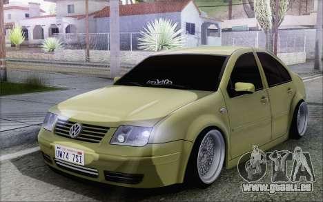 Volkswagen Bora Stance pour GTA San Andreas
