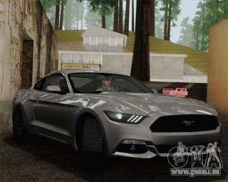 Ford Mustang GT 2015 für GTA San Andreas