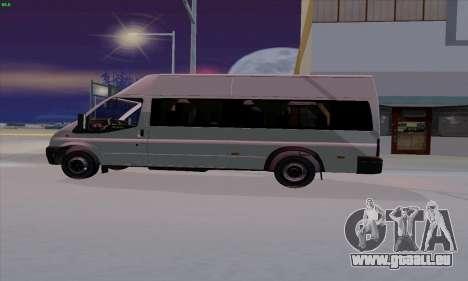 Ford Transit Jumgo für GTA San Andreas linke Ansicht
