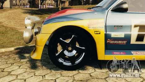 MG Metro 6r4 pour GTA 4 est un droit