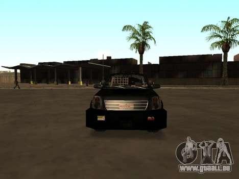 GMC Yukon ATTF für GTA San Andreas Seitenansicht