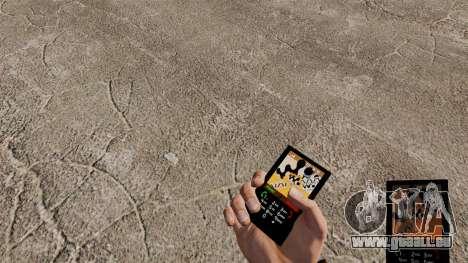 Le thème pour le téléphone Walkman pour GTA 4