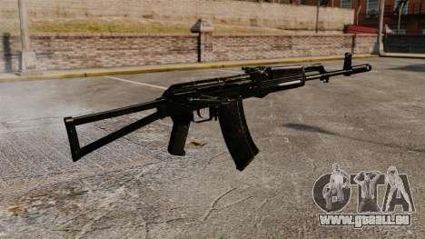 V9 de l'AK-47 pour GTA 4 secondes d'écran