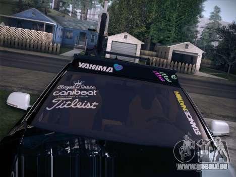 Audi Avant RS6 LowStance pour GTA San Andreas vue arrière