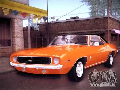 Chevrolet Camaro SS 1969 pour GTA San Andreas