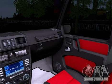 Mercedes-Benz G55 für GTA San Andreas Rückansicht
