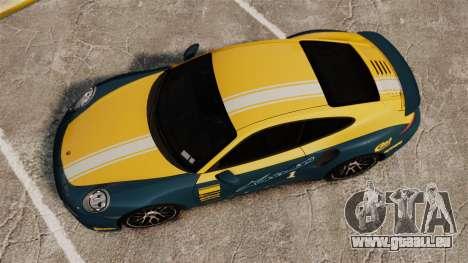 Porsche 911 Turbo 2014 [EPM] Alpinestars für GTA 4 rechte Ansicht