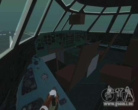 Il-76td v1. 0 für GTA San Andreas Innenansicht