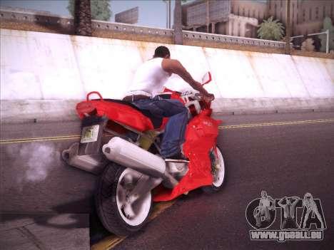 Ducati Supersport 1000 DS pour GTA San Andreas vue de droite