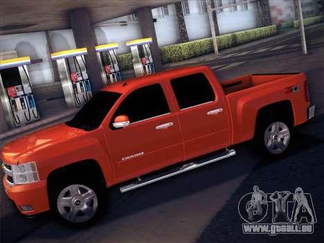 Chevrolet Cheyenne LT 2008 pour GTA San Andreas vue de droite